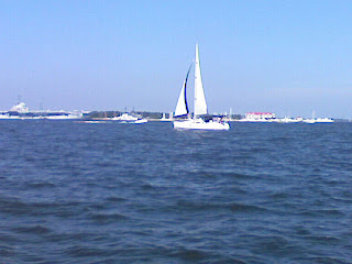 Sailing off the Coast Of Charleston