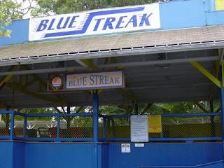 Blue Streak at Conneaut Lake