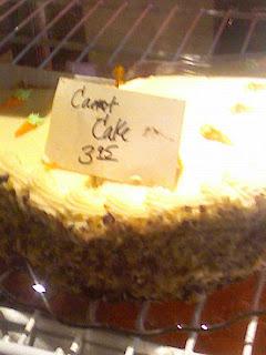 Carrot Cake For Breakfast