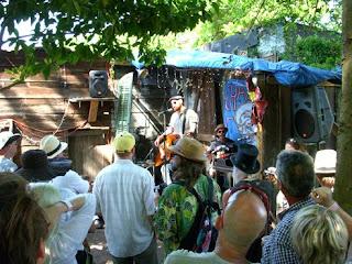 Luke Allen on the stage at ChazFest