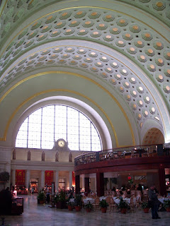 Interior Rotunda at Union Station in Washington DC