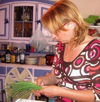Valérie en cuisine