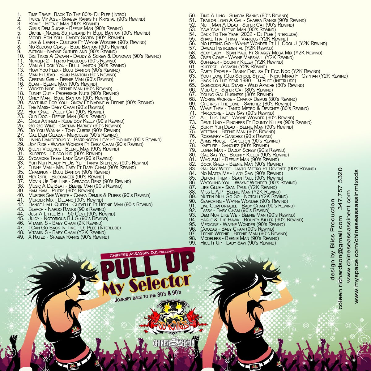 Trini Music Blog: Chinese Assassin DJ'S - Pull Up My ...