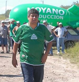 LA EX-SIDE...SOSPECHA QUE PABLO MOYANO HABRÍA MATADO A GOLPES A SU MUJER...