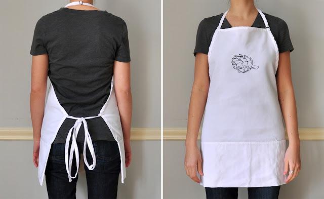 artichoke apron
