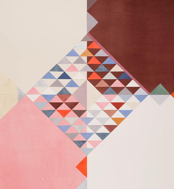 Lena Wolff - Wolff Paper Quilt Print