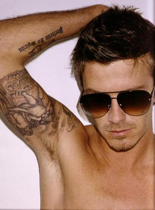 beckham tattoo. David Beckham Tattoo