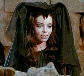 vampire woman countenance