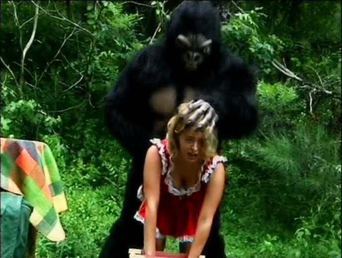 Sex with gorilla Girls porn having