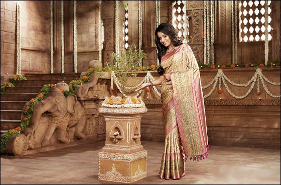 saree photos of Trisha