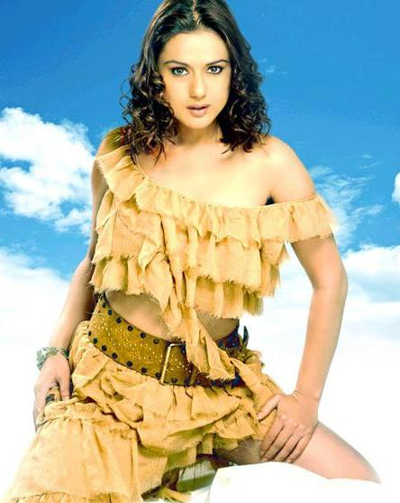Preity Zinta Bollywood Star Cool Picture Album hot photos