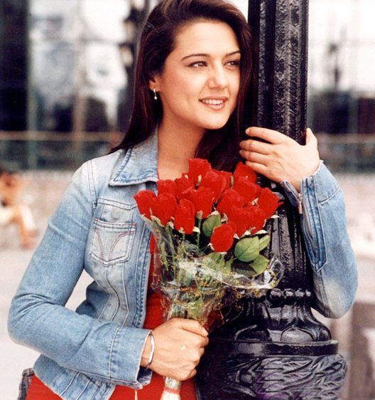 Preity Zinta Bollywood Star Cool Picture Album  stills