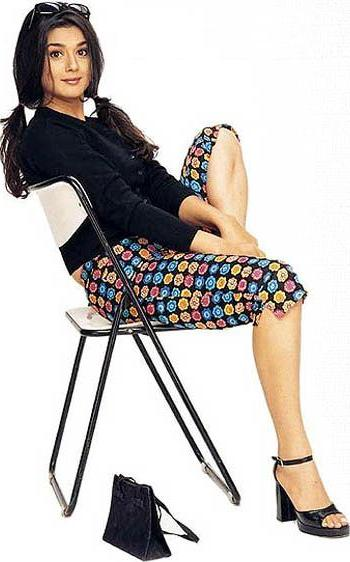 Preity Zinta Bollywood Star Cool Picture Album  show