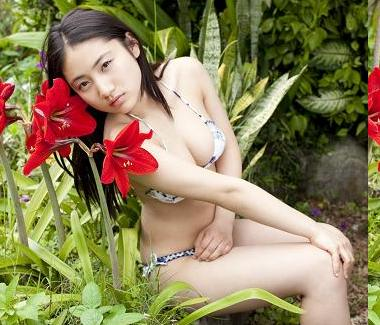Saaya Irie in Hot Bikini (Singer, Actress from Japan)