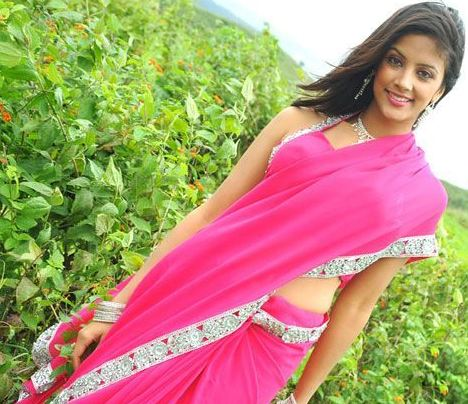 rithika in pink saree unseen pics