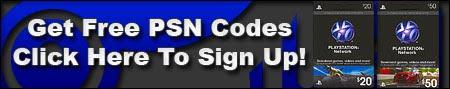 Free $20 PSN Codes