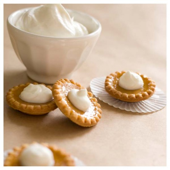 mini pumpkin pies via one charming party