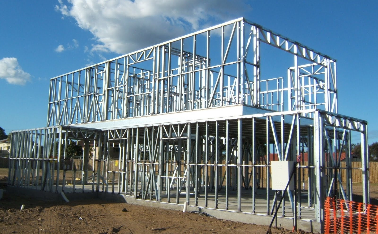 making good use of steel frame storage buildings