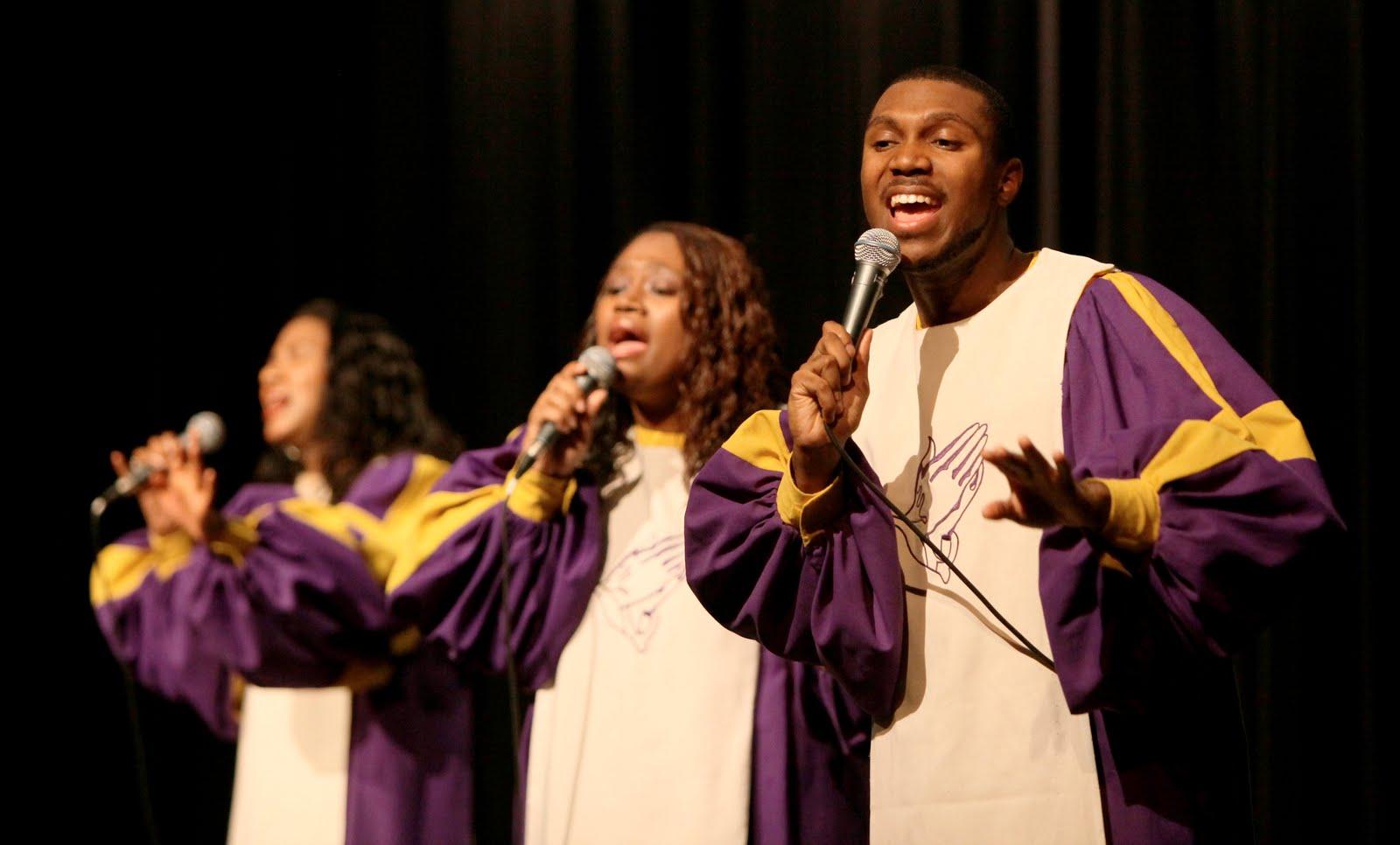 Glory gospel singers live