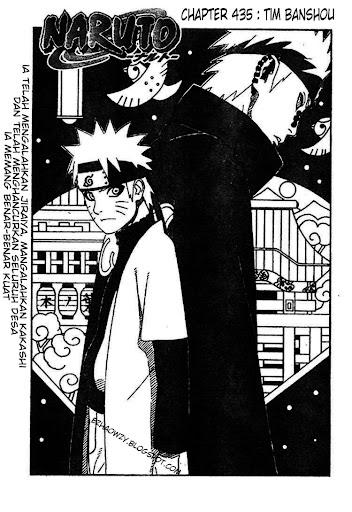 Naruto 435 page 1
