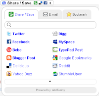 How to add a multiple option save and share button under all your blog posts
