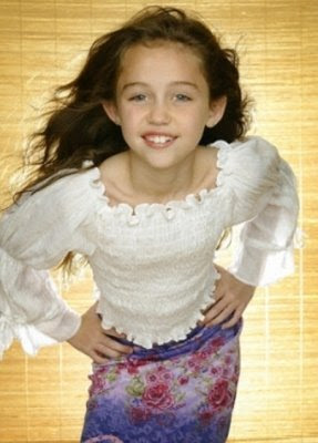 Miley Cyrus early photos