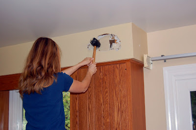 kitchen soffit decorating