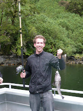 Fishing for dinner in NZ