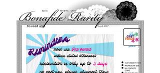 bonafide rarity