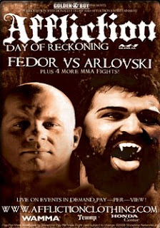 Fedor Arlovski Affliction Live Stream Replay Online