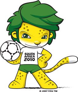 Zakumi, 2010 FIFA World Cup Mascot