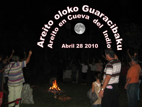 Areito Taino  en Cueva del  Indio -  Las  Piedras
