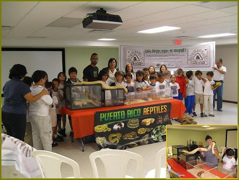 Exhibición de  Animales  Exóticos -  Palmas  Academy