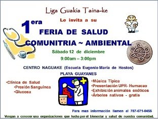 Exitosa  Feria  de  Salud  ~  Community  Healthy  Fair