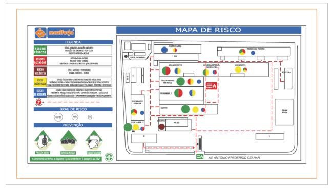 faça o mapa de Risco de sua empresa