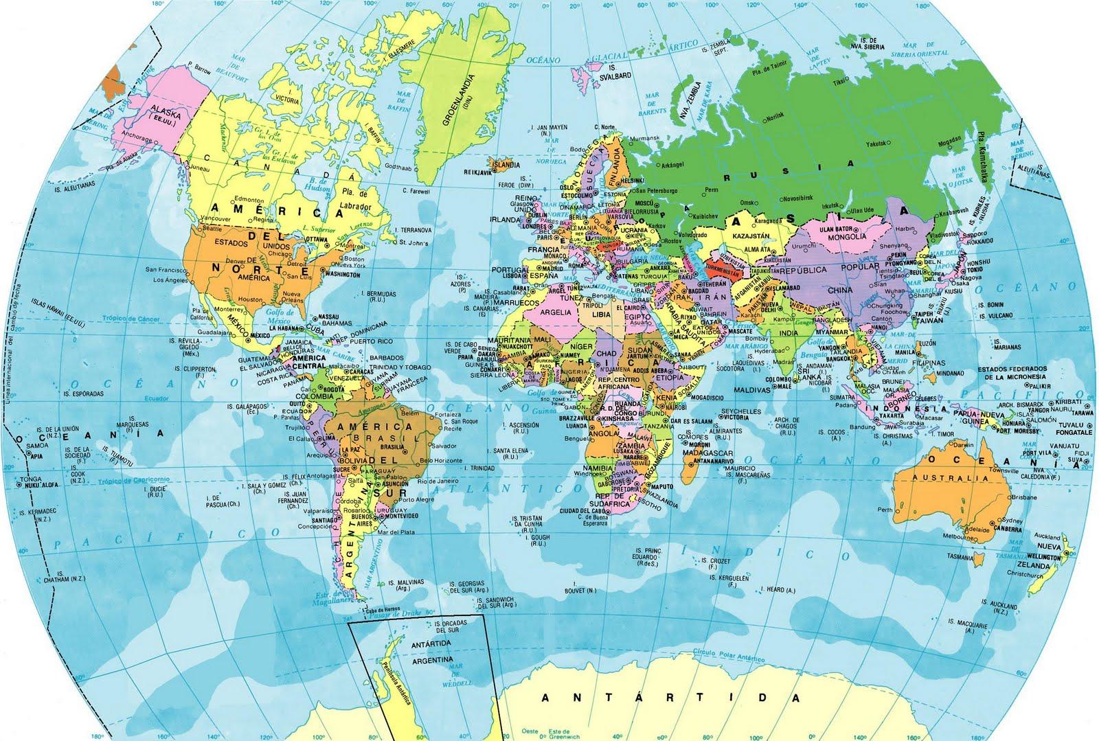 ... de los países según su continente existen 06 continentes américa