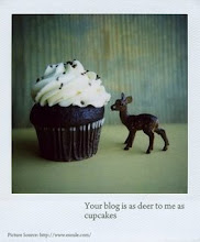 Deer to me as cupcake from Otin