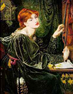 Veronica Veronese by Dante Gabriel Rossetti