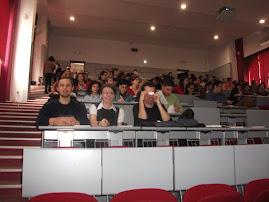 Imagine din timpul proiectului Training  în autorat ştiinţific