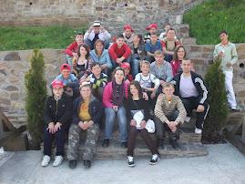 Fotografie de grup la Mănăstirea Bârsana
