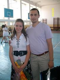 Fesitivitatea de premiere gimnaziu: cu eleva Mihaela Popa, clasa a VII-a A