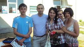 Cu elevi premianţi ai clasei a IX-a C, diriginte Prof. Daniel Nedeloiu