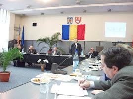 Aspecte din timpul Sesiunii Naţionale de Comunicări Ştiinţifice, Muzeul din Vaslui, 19 noiemb. 2010