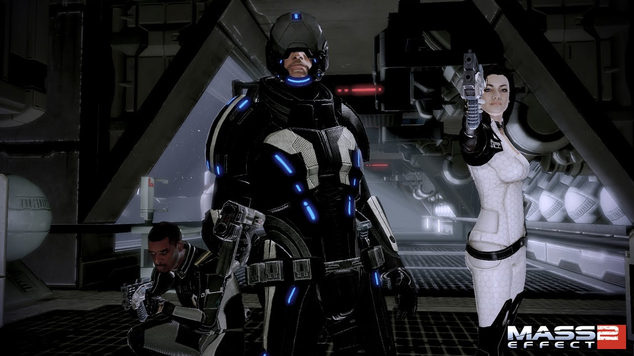 My Commander Shepard is a badass, and not just because he saved the