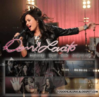 Demi Lovato   on Demi Lovato   Here We Go Again  Hq   Video