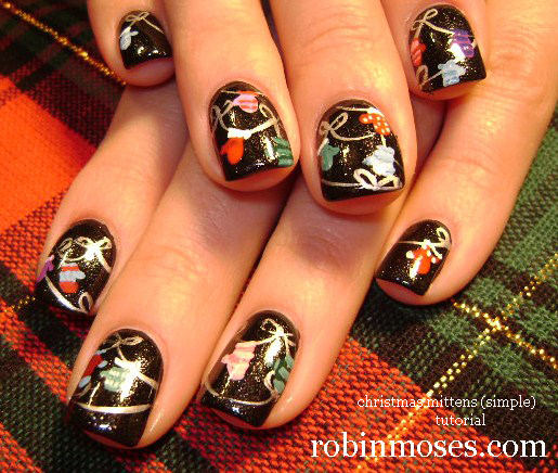 Christmas Nail Art Pictures - 23