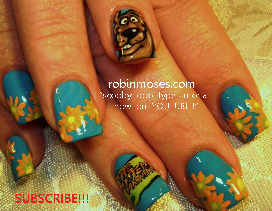 Robin moses nail art the grateful dead nail art scooby doo try watching this video on youtube or enable javascript if it is disabled in your browser prinsesfo Image collections
