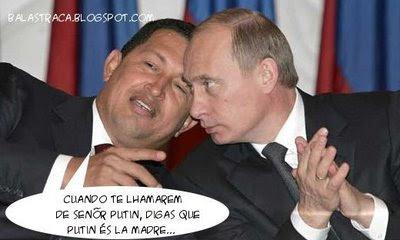 Vladimir Putin, Hugo Chavez, russia, colombia