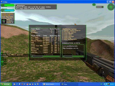 starsiege tribes, game online, multiplayer, fsp