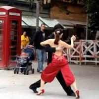tango, carlos gardel, por una cabeza, dança de rua